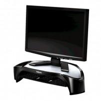 Podstavec Smart Suites pod monitor, závěsná police, černý, plast, 10kg nosnost, Fellowes