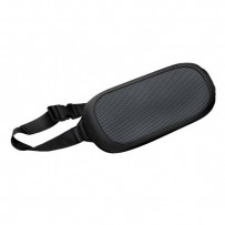 Bederní opěrka I-Spire, nastavitelný pásek, černá, plast, Fellowes