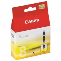 Canon originální ink CLI8Y, yellow, 490str., 13ml, 0623B001, Canon iP4200, iP5200, iP5200R, MP500, MP800