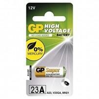Baterie alkalická, 23AF, V23GA, MN21, 12V, GP, blistr, 1-pack