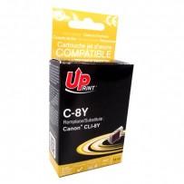 Kompatibilní Canon CLI-8Y žlutá, 14.5ml
