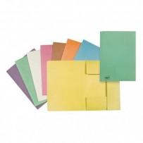 Mapa tříklopá H, A4, zelená, Hit Office, eko, cena za 1ks, 10ks