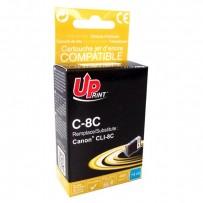 Kompatibilní Canon CLI-8C modrá, 14.5ml