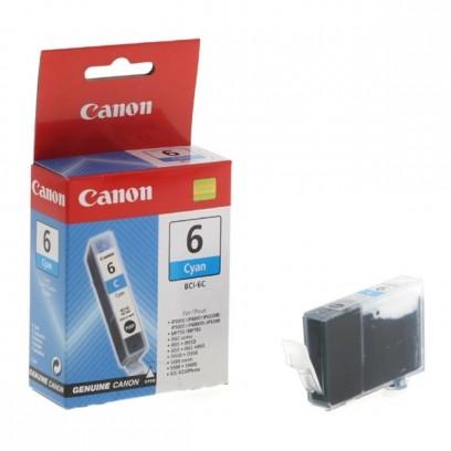 Canon originální ink BCI6C, cyan, blistr s ochranou, 13ml, 4706A028, 4706A017, Canon S800, 820, 830, 9000, iP6000D, MP750