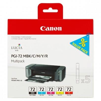 Sada Canon PGI-72 multipack C, M, Y, K, R (5ks)