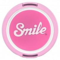 Smile krytka objektivu Kawai 52mm, růžová, 16123