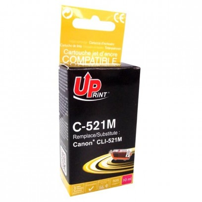 Kompatibilní Canon CLI-521M červená, 11ml