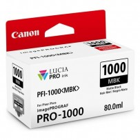 Canon PFI-1000MBK matte black