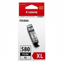 Canon originální ink PGI-580PGBK XL, black, 18.Vml, 2024C001, high capacity, Canon PIXMA TR7550, TR8550, TS6150, TS8150, TS91...