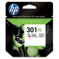 HP originální ink CH564EE, HP 301XL, color, blistr, 330str., HP HP Deskjet 1000, 1050, 2050, 3000, 3050