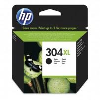 HP originální ink N9K08AE, HP 304XL, black, 300str., 5.5ml, HP DeskJet 2620,2630,2632,2633,3720,3730,3732,3735
