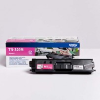 Brother originální toner TN-329M, magenta, 6000str., Brother HL-L8350CDW,HL-L9200CDWT
