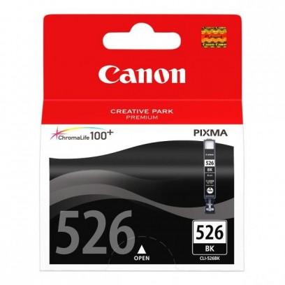 Canon originální ink CLI526BK, black, blistr s ochranou, 9ml, 4540B006, Canon Pixma MG5150, MG5250, MG6150, MG8150