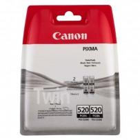 2ks Canon PGI-520BK černá, 19ml (2x)