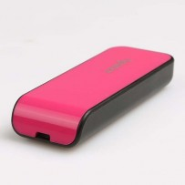 Apacer USB flash disk, 2.0, 16GB, AH334, růžový, AP16GAH334P-1, s výsuvným konektorem