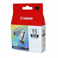 Canon originální ink BCI15B, black, 390str., 8190A002, 2ks, Canon i70