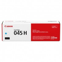 Canon originální toner 045HC, cyan, 2200str., 1245C002, high capacity, Canon LBP613Cdw, 611Cn, MFP635Cx, 633Cdw, 631Cn
