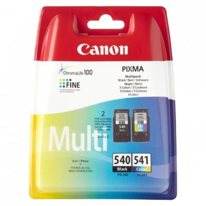 Sada Canon PG-540 + CL-541, multipack, černá + barevná