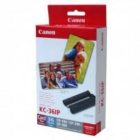 Canon, Etikety, papír, bílá, 86x54mm, 36 ks, pro termosublimační tiskárny CP-220/330, 7739A001AH