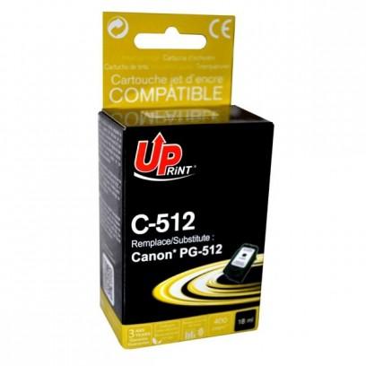 Kompatibilní Canon PG-512BK černá, 18ml