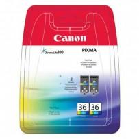 Canon originální ink CLI36 Twin, color, 2*12ml, 1511B018, Canon Pixma Mini 260
