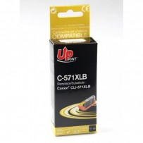 UPrint kompatibilní ink s CLI571BK XL, black, 810str., 11ml, C-571XLB, high capacity, pro Canon PIXMA MG5750, MG5751, MG5752,...