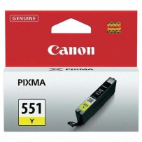 Canon originální ink CLI551Y, yellow, 7ml, 6511B001, Canon PIXMA iP7250, MG5450, MG6350, MG7550