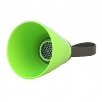 NoName Bluetooth reproduktor SALI, 3W, regulace hlasitosti, zelený, skládací, voděodolný, bluetooth+USB+3.5mm konektor