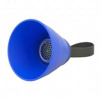 NoName Bluetooth reproduktor SALI, 3W, regulace hlasitosti, modrý, skládací, voděodolný, bluetooth+USB+3.5mm konektor
