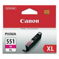 Canon originální ink CLI551M XL, magenta, blistr, 11ml, 6445B004, high capacity, Canon PIXMA iP7250, MG5450, MG6350