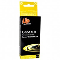 UPrint kompatibilní ink s CLI551BK XL, black, 11ml, C-551XLB, high capacity, pro Canon PIXMA iP7250, MG5450, MG6350