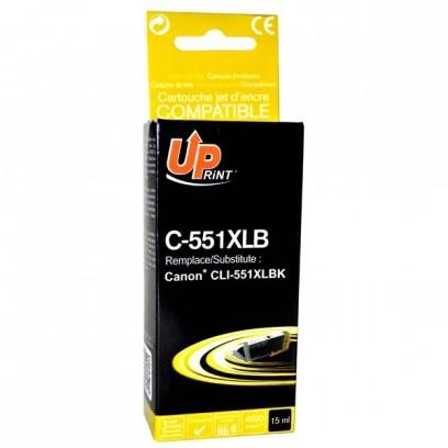 Kompatibilní Canon CLI-551BK XL černá, 11ml