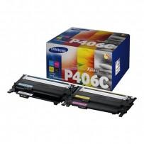 HP originální toner SU375A, CLT-P406C, CMYK, 1500, 3*1000str., P406C, Samsung CLP-360, CLP-365, CLX-3300, 3305, Xpress C-410,...