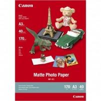 Canon Matte Photo Paper, foto papír, matný, MP-101 A3, bílý, A3, 170 g/m2, 40 ks, 7981A008, inkoustový