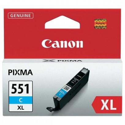 Canon CLI-551C XL modrá, 11ml
