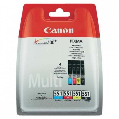 Sada Canon CLI-551 multipack (4ks)