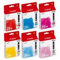 Sada Canon PGI-29 multipack R, C, M, Y, PC, PM (6ks)