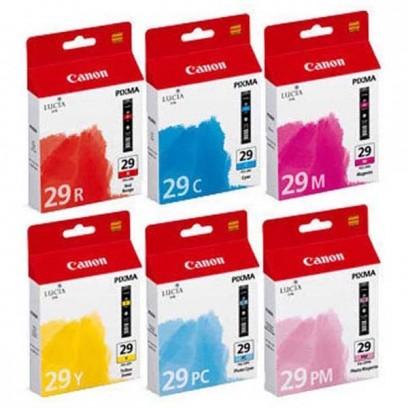 Sada Canon PGI-29 multipack R, C, M, Y, PC, PM (6ks)