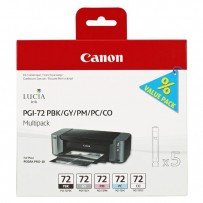 Sada Canon PGI-72 multipack PBK, GY, PM, PC, CO (5ks)