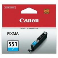 Canon originální ink CLI551C, cyan, 7ml, 6509B001, Canon PIXMA iP7250, MG5450, MG6350, MG7550