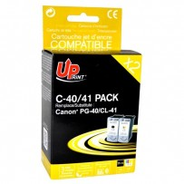 UPrint kompatibilní ink s PG40+CL41, black/color, 25+3x18ml, C-40/41 PACK, pro Canon iP1600, 2200, MP150, 170, 450