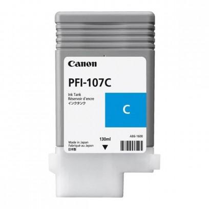 Canon originální ink PFI107C, cyan, 130ml, 6706B001, Canon iPF-680, 685, 780, 785