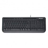 Microsoft Klávesnice Wired Keyboard 600 USB CZ, klasická, černá, drátová (USB), CZ/SK