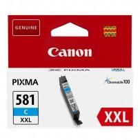 Canon originální ink CLI-581C XXL, cyan, 11.VIIml, 1995C001, very high capacity, Canon PIXMA TR7550, TR8550, TS6150, TS8150, ...