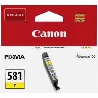 Canon originální ink CLI581 Y, yellow, 5,6ml, 2105C001, Canon PIXMA TR7550, TR8550, TS6150, TS6151, TS8150, TS81