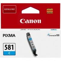 Canon originální ink CLI581 C, cyan, 5,6ml, 2103C001, Canon PIXMA TR7550, TR8550, TS6150, TS6151, TS8150, TS81
