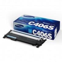 Samsung HP toner CLT-C406S modrý (azurový) 1000 stran