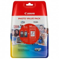 Canon originální value pack PG-540XL+CL-541XL + fotopapír PG-540XL+CL-541XL, black/color, 5222B013, Canon MG2150,2250,3150,32...