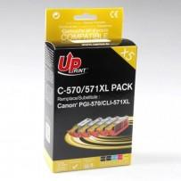 Sada kompatibilní Canon multipack PGI-570XL + CLI-571XL (5ks)