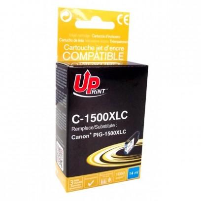 Kompatibilní Canon PGI-1500XL C modrá, 14ml